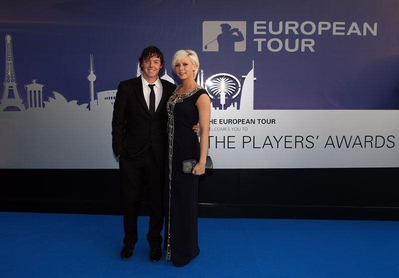 Rory McIlroy and Holly Sweeney