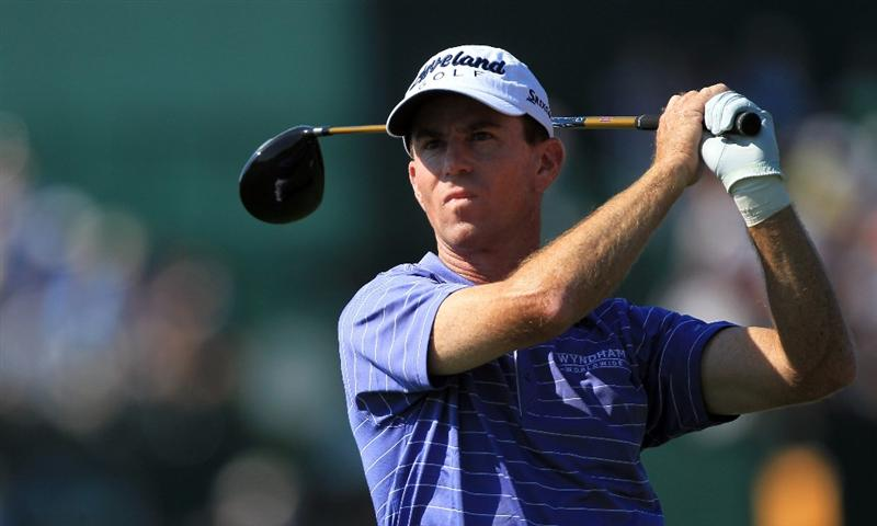 ORLANDO, FL - MARCH 25: Skip Kendall tees off at the 16th hole during the second round of the 2011 Arnold Palmer Invitational presented by Mastercard at the Bay Hill Lodge and Country Club on March 25, 2011 in Orlando, Florida.  (Photo by David Cannon/Getty Images)