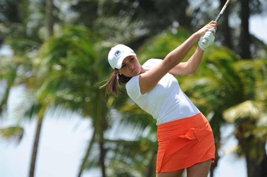 Stefanie Kenoyer Strikes the Ball
