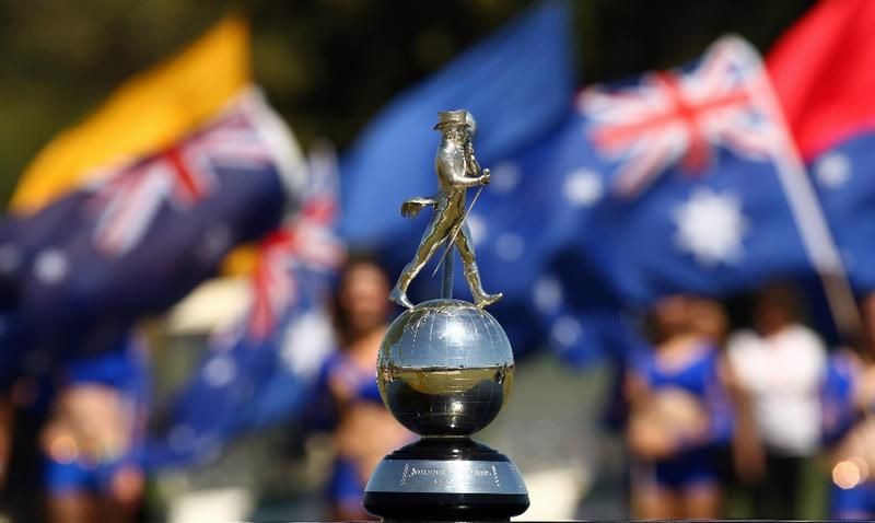 PERTH, AUSTRALIA - FEBRUARY 22:  The Johnnie Walker trophy is seen during round four of the 2009 Johnnie Walker Classic at The Vines Resort and Country Club on February 22, 2009 in Perth, Australia.  (Photo by Ian Walton/Getty Images)