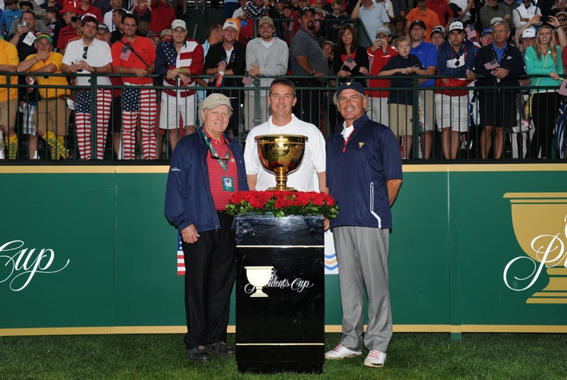 Jack Nicklaus, Urban Meyer, Fred Couples