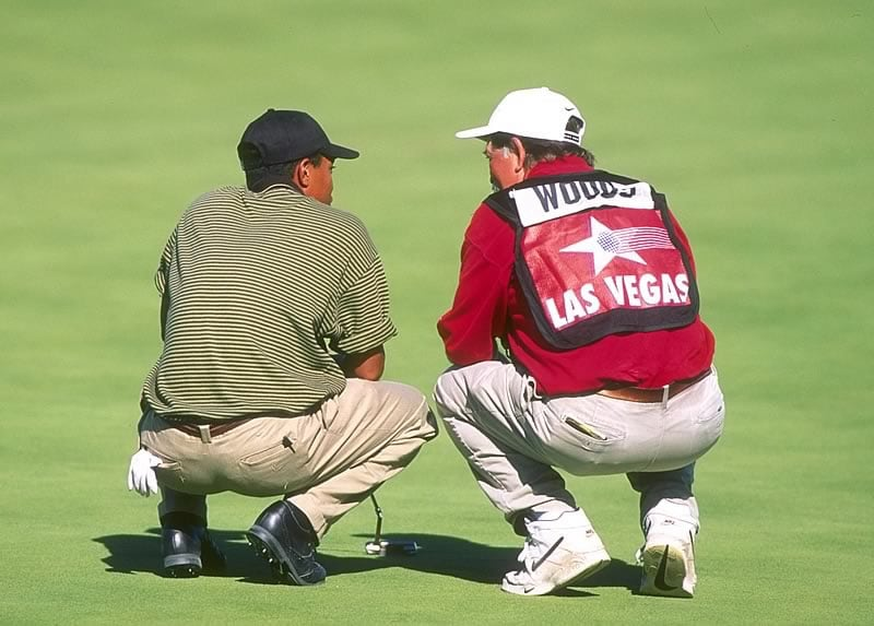Tiger Woods and 'Fluff' Cowan