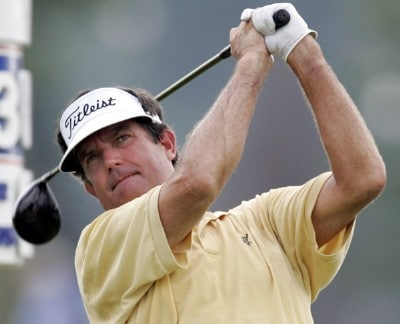 Bruce Lietzke during the second round of the Ford Senior Players Championship held at TPC Michigan in Dearborn, Michigan, on July 14, 2006.Photo by Gregory Shamus/WireImage.com