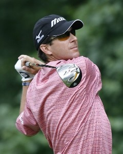 Billy Andrade during the second round of the AT&T National at Congressional Country Club on July 6, 2007 in Bethesda, Maryland. PGA TOUR - 2007 AT&T National - Second RoundPhoto by Hunter Martin/WireImage.com