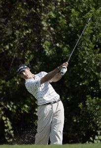 Jonathan Byrd during the second round of the Chrysler Championship at the Westin Innisbrook Resort on the Copperhead Course in Palm Harbor, Florida on October 27, 2006. PGA TOUR - 2006 Chrysler Championship - Second RoundPhoto by Michael Cohen/WireImage.com