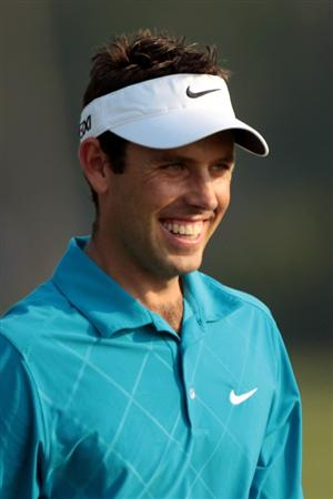 PONTE VEDRA BEACH, FL - MAY 10:  Charl Schwartzel of South Africa looks on during a practice round prior to the start of THE PLAYERS Championship held at THE PLAYERS Stadium course at TPC Sawgrass on May 10, 2011 in Ponte Vedra Beach, Florida.  (Photo by Scott Halleran/Getty Images)