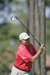 Raymond Floyd during the second round of the Boeing Championship at Sandestin at Raven Golf Club in Destin, Florida on May 13, 2006.Photo by Michael Cohen/WireImage.com