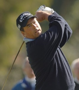 Olin Browne in action during the first round of the 2006 Nissan Open, Presented by Countrywide at Riviera Country Club in Pacific Palisades, California February 16, 2006.Photo by Steve Grayson/WireImage.com
