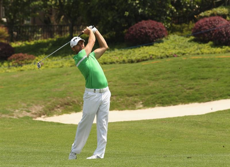 CHENGDU, CHINA - APRIL 23:  Gareth Maybin of Northern Ireland in action during day three of the Volvo China Open at Luxehills Country Club on April 23, 2011 in Chengdu, China.  (Photo by Ian Walton/Getty Images)