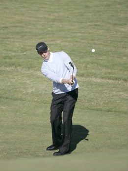 Doug LaBelle II during the first round of the Nationwide Tour Championship held  on the Senator course at Capitol Hill GC in Prattville, Alabama on Thursday, October 27, 2005.Photo by Sam Greenwood/WireImage.com