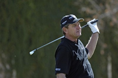 Nick Price in action during the first round of the 2006 Chrysler Classic of Tucson on February 23, 2006 at the Omni Tucson National Golf Resort and Spa in Tucson, ArizonaPhoto by Marc Feldman/WireImage.com