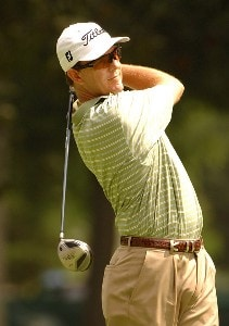 Stephen Leaney during the first round of the Stanford St. Jude Championship at the TPC Southwinds on Thursday, June 7, 2007 in Memphis, Tennessee. PGA TOUR - 2007 Stanford St. Jude Championship - First RoundPhoto by Marc Feldman/WireImage.com