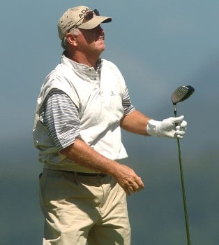 Tom Jenkins in action during the second round of the 2005 Boeing Greater Seattle Classic at TPC at Snoqualmie Ridge in Snoqualmie, Washington August 20, 2005.Photo by Steve Grayson/WireImage.com
