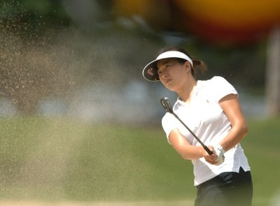 Shi Hyun Ahn in action during the second round of the inaugural 2006 Fields Open in Hawaii at Ko Olina Golf Club in Kapolei, Hawaii February 24, 2006.Photo by Steve Grayson/WireImage.com