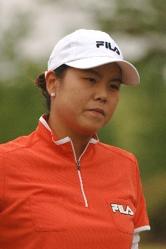 Hee-Won Han competes during the second round of the 2005 Franklin American Mortgage Championship at Vanderbilt Legends Club in Franklin, Tennessee on April 29, 2005.Photo by Al Messerschmidt/WireImage.com