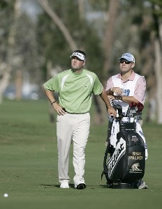 Ryan Palmer in action during the first round of the Ford Championship at Doral Golf Resort and Spa in Miami, Florida on March 2, 2006.