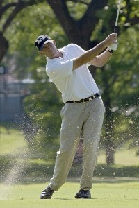 Tom Lehman during the final round of the Bank of America Colonial held at the Colonial Country Club on Sunday, May 21, 2006 in Ft. Worth, TexasPhoto by Marc Feldman/WireImage.com