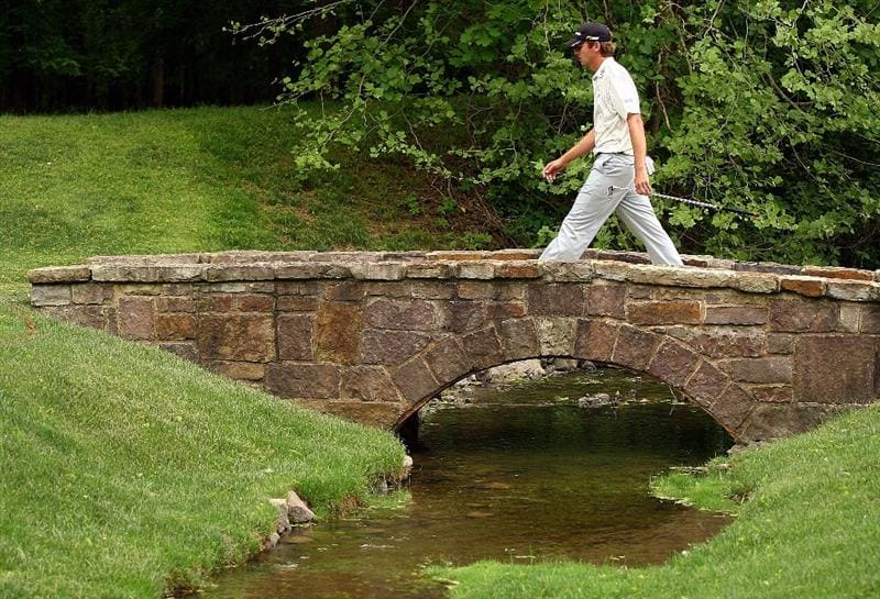 CHARLOTTE, NC - MAY 03:  Sean O'Hair walks to the 13th green during the final round of the Quail Hollow Championship at the Quail Hollow Club on May 3, 2009 in Charlotte, North Carolina.  (Photo by Scott Halleran/Getty Images)