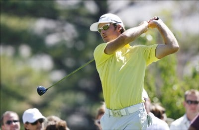 Early round leader, Will MacKenzie during the fourth and final round of the Reno Tahoe Open held at Montreux Golf and Country Club in Reno, Nevada, on August 27, 2006.Photo by Stan Badz/PGA TOUR/WireImage.com