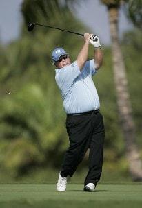 Craig Stadler tees off on #14 during the Thursday Pro-Am at the 2006 Mastercard Championship  at Hualalai resort,  Kona, Hawaii.Photo by: Chris Condon/PGA TOUR