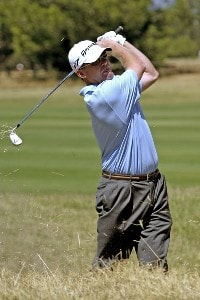 Tripp Isenhour during the second round of the Jacob's Creek Open Championship, February 17, 2006, held at Royal Adelaide Golf Club, Adelaide, Australia.Photo by Jamie McDonald/WireImage.com