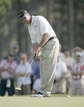 Brandt Jobe during the first round of the 2005 U.S. Open Golf Championship at Pinehurst Resort course 2 in Pinehurst, North Carolina on June 16, 2005.Photo by Sam Greenwood/WireImage.com