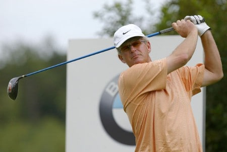 Sandy Lyle (SCO) during the second round of the 2005 BMW International Open at the Nord-Eichenried Golf Club in Munich, Germany on August 26, 2005.Photo by Alexanderk/WireImage.com
