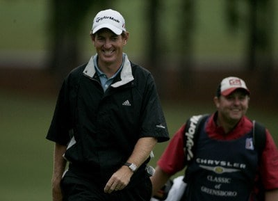 Greg Owen during the second round of the Chrysler Classic of Greensboro at Forest Oaks Country Club in Greensboro, North Carolina on October 6, 2006. PGA TOUR - 2006 Chrysler Classic of Greensboro - Second RoundPhoto by Michael Cohen/WireImage.com