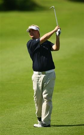 BALI, INDONESIA - FEBRUARY 26:  Ross McGowan of England in action during the 2009 Enjoy Jakarta Indonesian Open at New Kuta Golf Club on February 26, 2009 in Bali, Indonesia.  (Photo by Ian Walton/Getty Images)