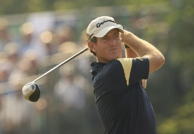 Greg Owen during the first round of the 135th Open Championship at Royal Liverpool Golf Club in Hoylake, Great Britain on July 20, 2006.Photo by Pete Fontaine/WireImage.com
