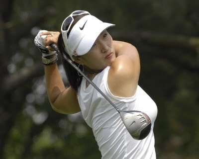 Grace Park during the second round of the LPGA Michelob ULTRA Open at Kingsmill at Kingsmill Resort and Spa in Williamsburg, Virginia on May 11, 2007 LPGA - 2007 Michelob ULTRA Open - Second RoundPhoto by Al Messerschmidt/WireImage.com