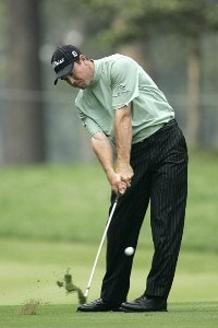 Arron Oberholser during the second round of the 88th PGA Championship at Medinah Country Club in Medinah, Illinois, on August 18, 2006.Photo by Christopher Condon/WireImage.com