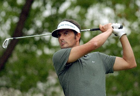 Jean Van De Velde from France tees off during Rd3Photo by Jeff Crow/WireImage.com
