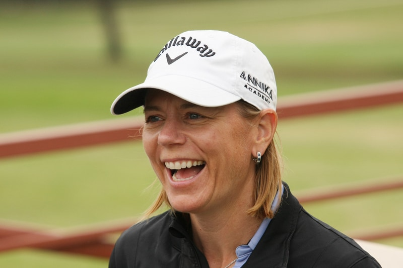 Annika Sorenstam at Colonial