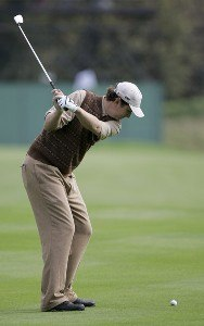 J.J. Henry of the USA during a practice round at the 2006 Ryder Cup held at the K Club, Straffan, County Kildare, Ireland on Thursday, September 21, 2006. Photo by Sam Greenwood/WireImage.com