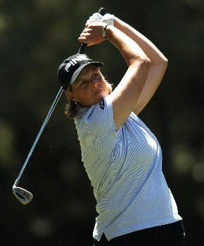 Wendy Ward in action during the second round of the 2005 LPGA  Takefuji Classic at the Las Vegas Country Club in Las Vegas, Nevada, April 15, 2005Photo by Steve Grayson/WireImage.com