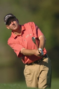 Mark Brooks during the first round of THE PLAYERS championship at the Tournament Players Club at Sawgrass in Ponte Vedra Beach, Florida on March 24, 2005.