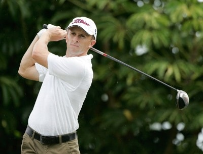 Tim Wilkinson of New Zealand hits his drive during the third round of the Sony Open in Hawaii held at Waialae Country Club January 12, 2008 in Honolulu, Hawaii. PGA TOUR - 2008 Sony Open in Hawaii - Third RoundPhoto by Stan Badz/PGA TOUR/WireImage.com