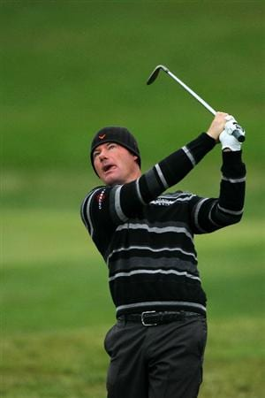 PEBBLE BEACH, CA - JUNE 18:  Alex Cejka of Germany hits a shot on the second hole during the second round of the 110th U.S. Open at Pebble Beach Golf Links on June 18, 2010 in Pebble Beach, California.  (Photo by Donald Miralle/Getty Images)