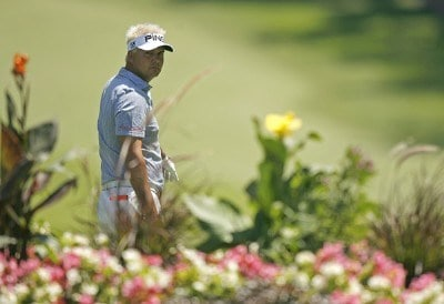 Daniel Chopra during the second round of the US Bank Championship being held at Brown Deer Park in Milwaukee, Wisconsin on July 20, 2007. Photo by Mike Ehrmann/WireImage.com