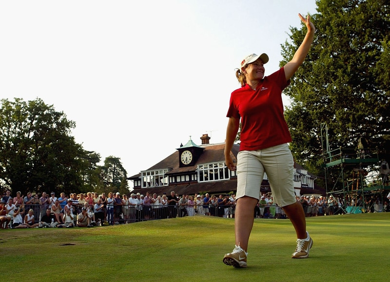 Karen Stupples, 2004 Women's British Open