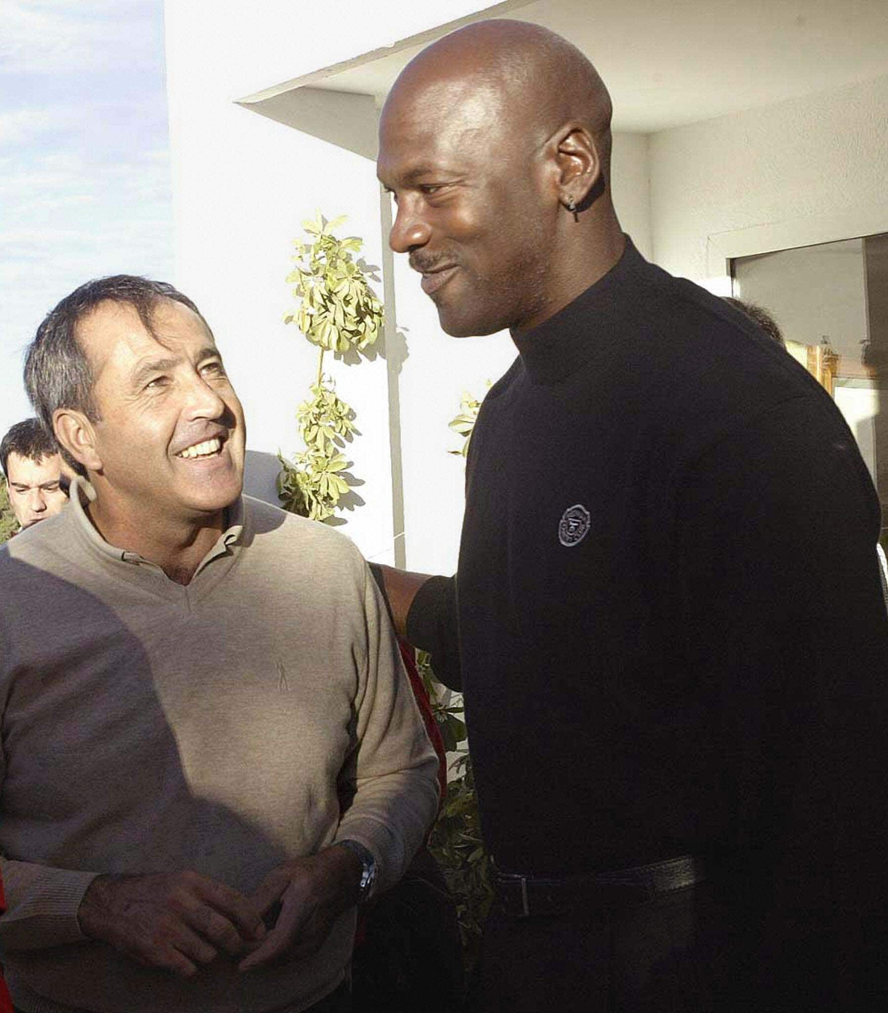 Michael Jordan and Severiano Ballesteros