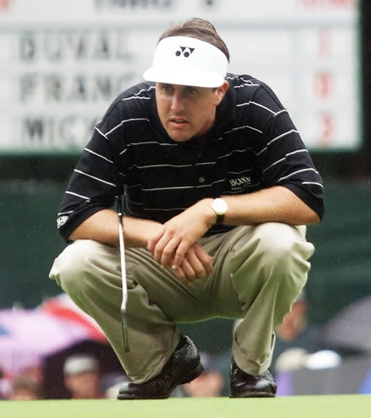 Round 1: Phil Mickelson