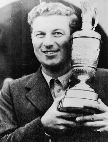 3. Peter Thomson, 1956 Open Championship