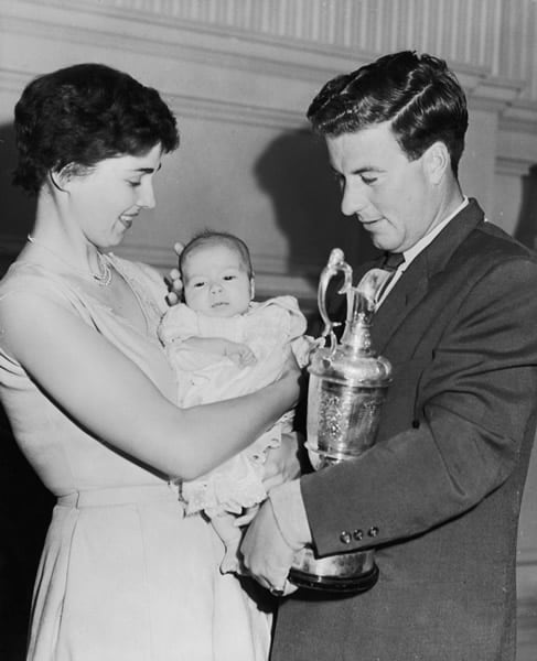 7. Peter Thomson, 1954 Open Championship