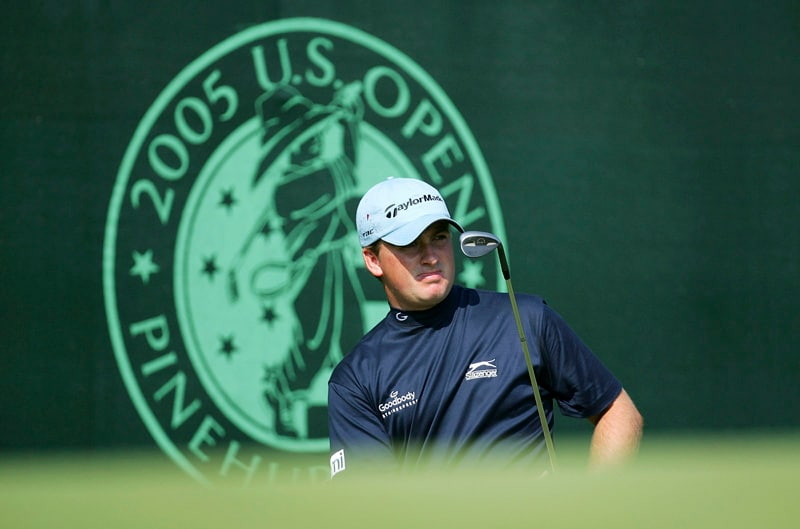 Graeme McDowell at the 2005 U.S. Open
