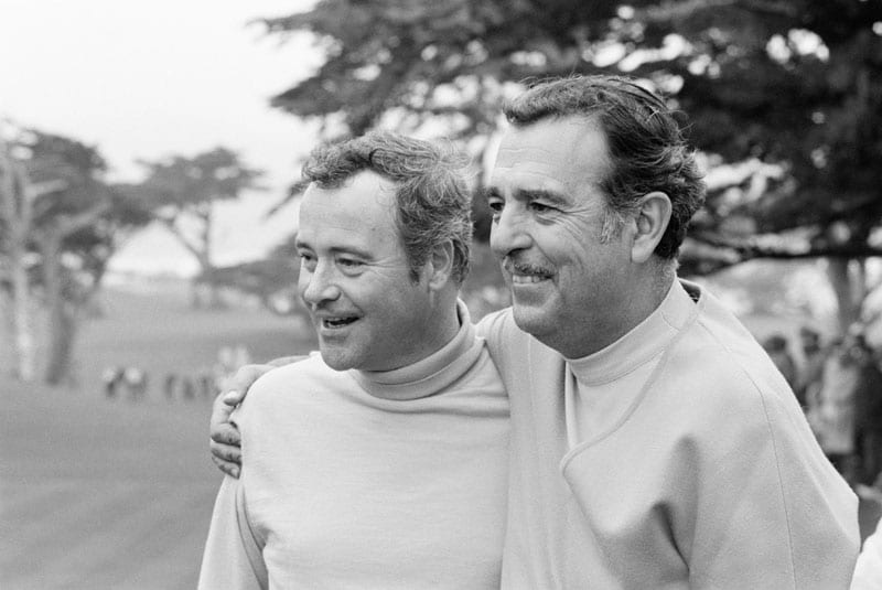 Jack Lemmon and Tennessee Ernie Ford