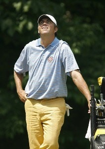 Bo Van Pelt during the third round of the 2006 Wachovia Championship at the Quail Hollow Club in Charlotte, North Carolina on May 6, 2006.Photo by Kevin C.  Cox/WireImage.com