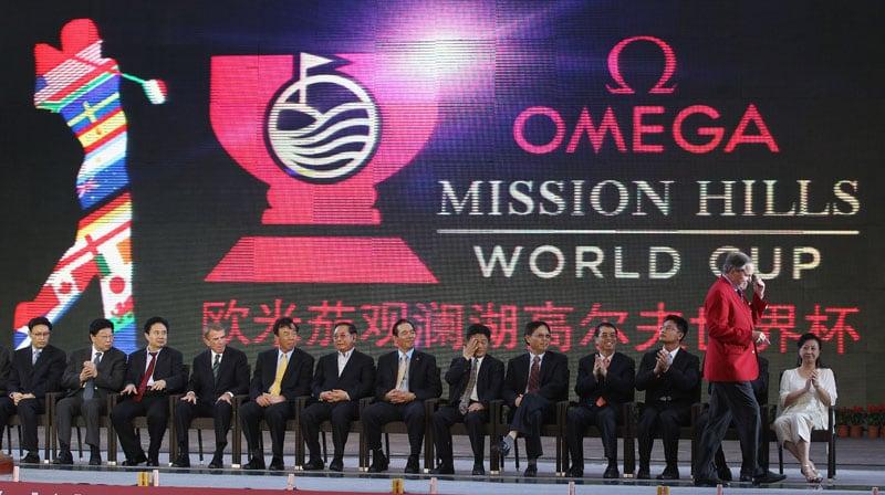 Omega Mission Hills World Cup