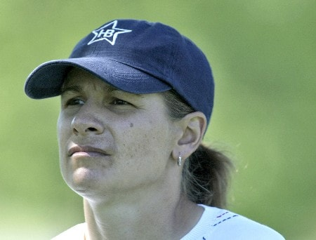 Heather Bowie during the first round of the 2005 Sybase Classic at Wykagyl Country Club in New Rochelle, New York on May 19, 2005.Photo by Michael Cohen/WireImage.com